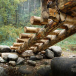 "Лестница моста ""Альфа и Омега"""
