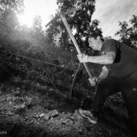 Строительство тропы на Великий Чайный Путь