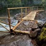 «Мост удачи» на седьмой переправе.