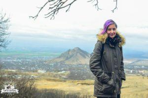 Александра Колосова, участница 1-я смены Байкальского проекта - 2018