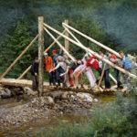 Мост Мраморный. Сделан командой Байкальского проекта - 2009, смена 1