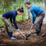 Строительство тропы на Чайный путь. 5-й день проекта