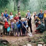 Участники семейной смены Байкальского проекта 2018