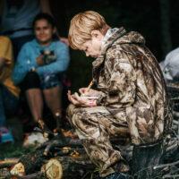 Наталия Хрипкова, волонтер на байкальской тропе
