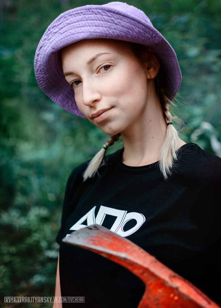 Дарья Родина, Волонтер на Байкале.